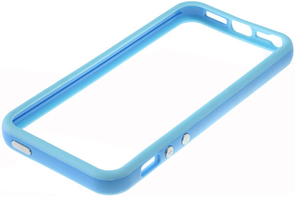 бампер Apple iPhone 5 Bumper blue