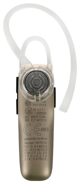 bluetooth гарнитура Plantronics Explorer 500 white