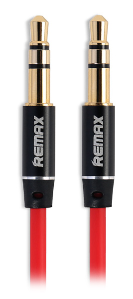 AUX кабель Remax Aux Audio 3.5 mm  RL-L200 2,0m red
