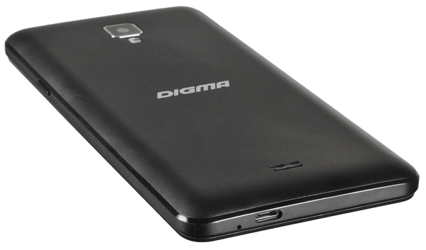смартфон Digma Linx A501 4G 8Gb black