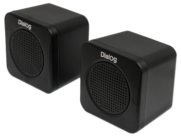 колонки для компьютера Dialog Colibri AC-01UP black