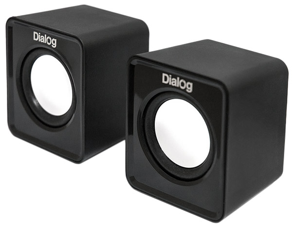 колонки Dialog Colibri AC-02UP black