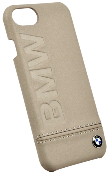накладка BMW Signature Logo Imprint  iPhone 7 taupe