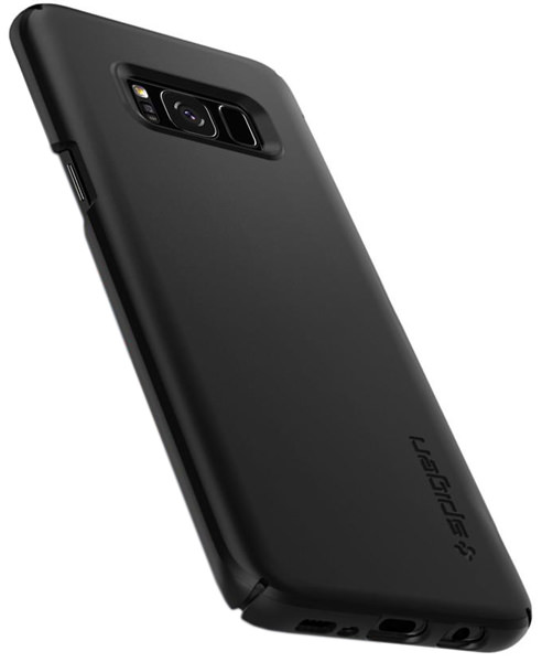 накладка Spigen для Galaxy S8 Thin Fit black