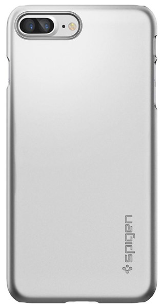накладка Spigen для iPhone 7 Plus Thin Fit silver