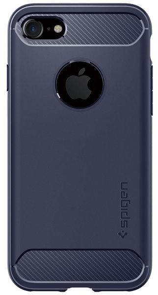 накладка Spigen для iPhone 7 Rugged Armor deep blue