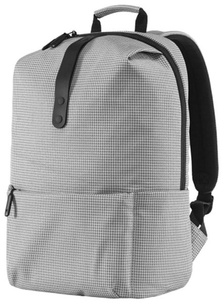 рюкзак для школьника Xiaomi MI College Casual Shoulder Bag light grey