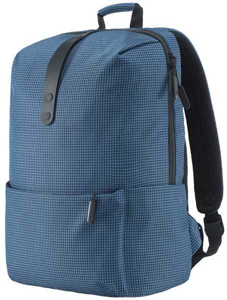 рюкзак для школьника Xiaomi MI College Casual Shoulder Bag blue