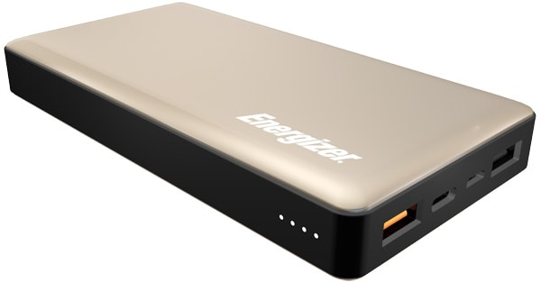 внешний аккумулятор Energizer Power Bank UE15002CQ 15000 mAh QC 3.0 gold