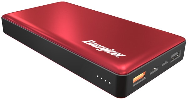 внешний аккумулятор Energizer Power Bank UE15002CQ 15000 mAh QC 3.0 red