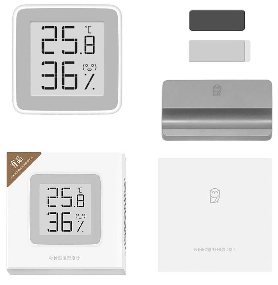 термометр-гигрометр Xiaomi Mijia Thermometer Temperature Humidity white