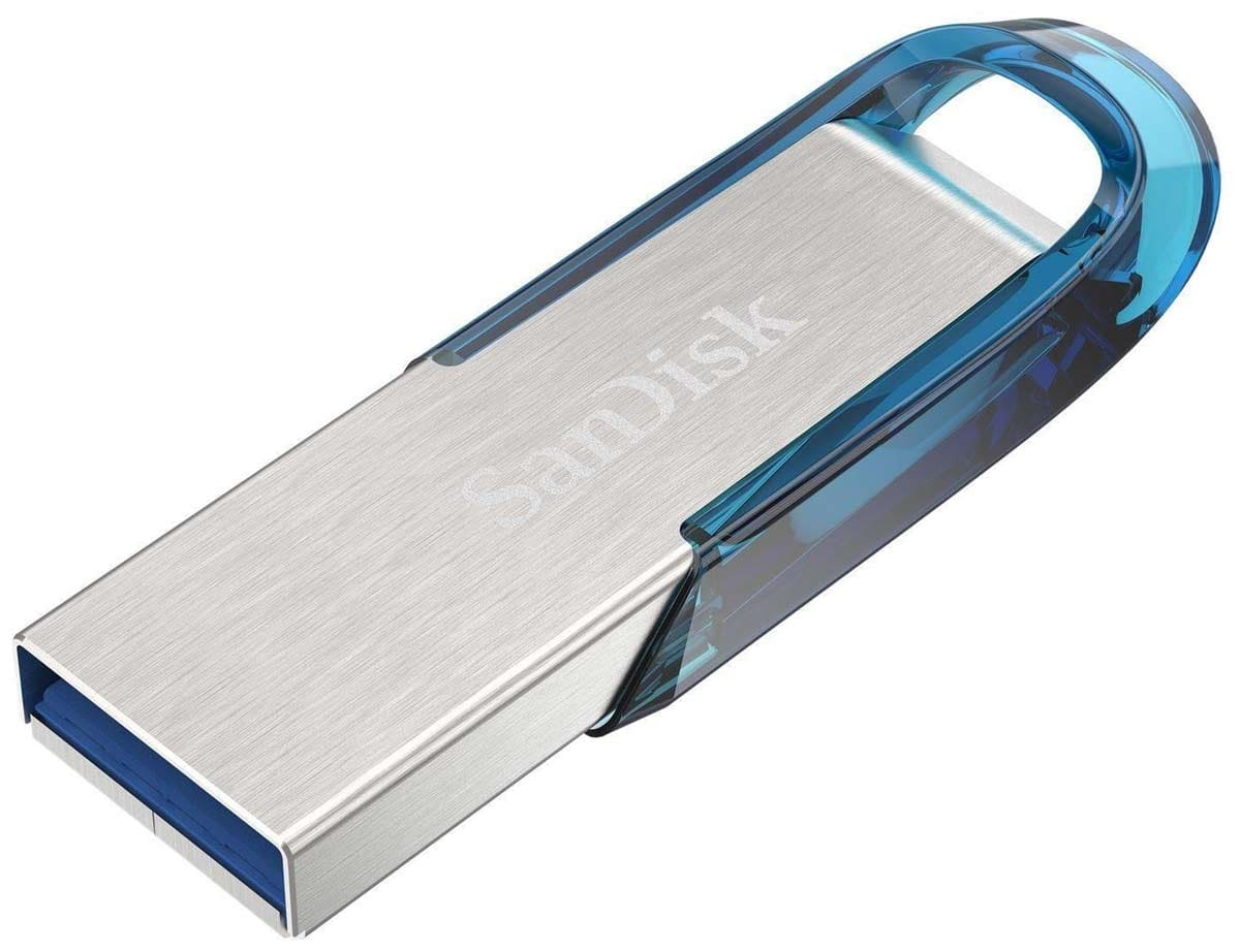 флешка USB 3.0 SanDisk CZ73 Ultra Flair 64Gb 3.0 blue