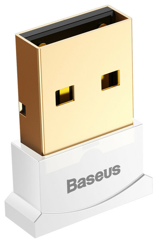 USB Bluetooth адаптер Baseus Bluetooth Adaptors For Computers white