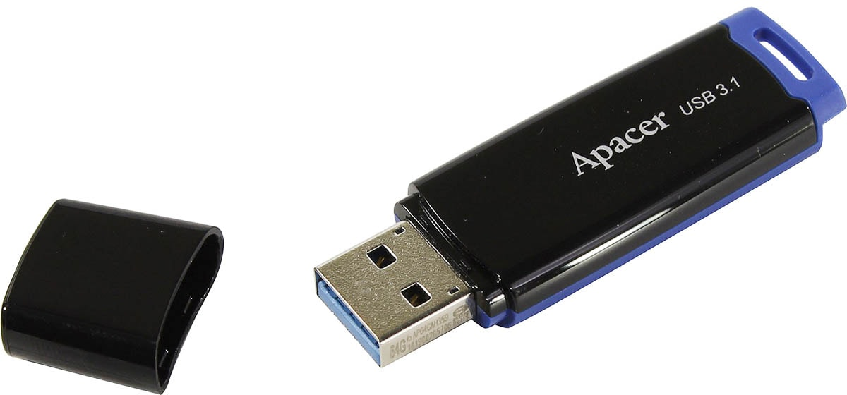 флешка USB 3.1 Apacer AH359 64GB blue