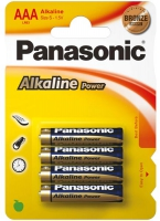 батарейки (4 шт.) Panasonic LR03/AAA Alkaline Power-4BL