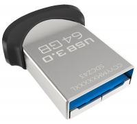 флешка USB 3.0 SanDisk CZ43 Ultra Fit 64Gb