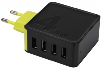 зарядное устройство Rock Space Sugar Travel Charger 4USB  4A