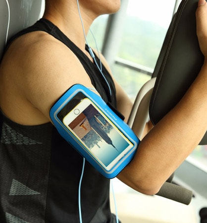 Фото Rock Slim Sport Armband для Apple iPhone 4,7
